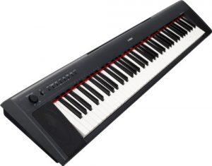 Yamaha Np31clavier Portable Piano numérique Keyboard noir
