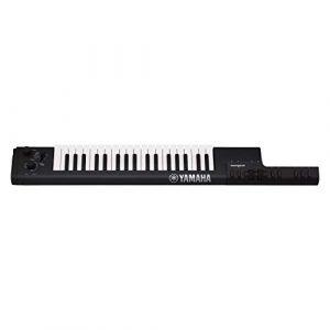 Yamaha Sonogenic SHS-500 – Clavier électronique bluetooth sans fil – Instrument de musique portable pour débutants, enfants et adultes – Keytar avec mode JAM – Noir