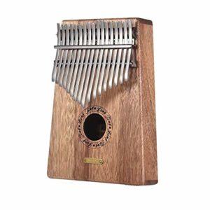 Chentaomayan LT-K17S/LT-K17SEQ 17 clés Kalimba Piano pouce Mbira Sanza Swartizia Spp en bois massif