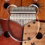 ClothHouse 17 Touches Cristal Kalimba Sanza Transparent Piano Doigt Kalimba Pouce Africain Instrument De Musique Portable Acrylique