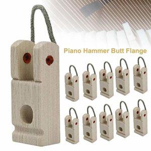 earlyad Piano Lot de 10 pédales avec corde ondulée pour piano durable