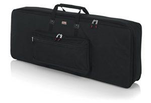 Gator GKB-76 Etui semi-rigide pour Clavier/Piano numérique 76 Notes Noir