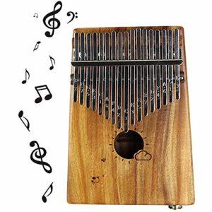 Kalimba Pouce Africain Piano Mbiro Avec Instruction Instruction Autocollants Sac De Transport Et Marteau Pour Camarade De Classe Enfants Adulte Musique Amateur Festival Cadeau,Acacia-ElectricBox