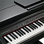 Kurzweil Kag100poli Ébène Digital Baby Grand piano