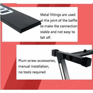 Nai-tripod Z-Forme Stand Clavier, électronique Exercice étudiant organe Cadre – Support for Clavier Synthétiseur Workstation Piano (Color : Black)