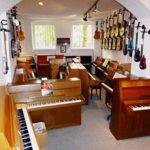 Piano de marque Trautwein modèle Konzert 130 – Noir poli