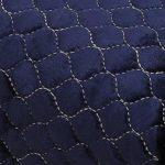 Protection Fil Double Tissu en Coton Couverture Piano Demi Couverture Couverture avec Banc for Verticale Standard Pianos Durable Reprise de Piano (Couleur : Blue, Taille : 56x36cm)
