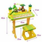 WOHAO Piano numérique Baby Piano Piano électronique for Enfants Toy Piano 3-6 Ans débutant Cadeau d'anniversaire (Couleur: Jaune) (Color : Yellow)