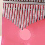 17 pouces piano à main, transparent Kalimba instrument de musique doigt piano instrument de musique africain enfant adulte
