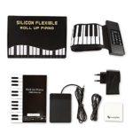 88 Clés Main Piano Roll, Portable Professionnel Rouleau Main Clavier Épaississement Électronique, Multifonction Fold Clavier Enfant, Cadeau Spécial Pour Les Enfants, Les Adultes Et Les Débutants