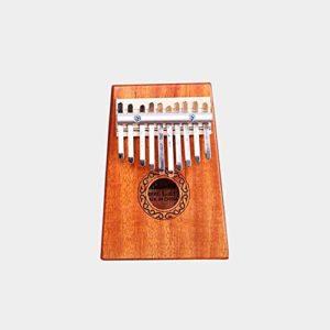CHENTAOCS 10/17 clés Kalimba africaines en acajou massif Acacia Pouce Finger Piano 17 touches en bois massif Kalimba Instrument de musique Vente chaude (Couleur : Mahogany 10 keys)