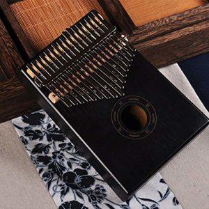 CHENTAOCS 17 Clés Bull Kalimba Pouce Piano Acajou Corps Musical Instrument qualité et prix (Couleur : Reindeer orginal GUD)