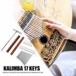 CHENTAOMAYAN 17 Clés Kalimba Pouce Finger Piano Bricolage clés + Pont + Tuning Kit Marteau Instrument de Musique Partie Accessoires (Color : Type C)