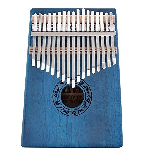 Chentaomayan – Piano à 17 touches Kalimba – Piano – Piano – Mbira – Naturel – Portable – Mini Clavier – Avec 7 Accessoires