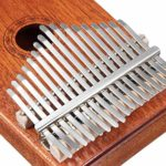 Kalimba 17 Keys Thumb Piano Avec Instruction Study And Tune Hammer, Portable Mbira African Wood Finger Instrument De Musique, Gift For Kids Adult Beginners