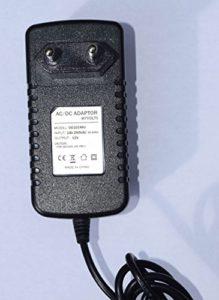 MyVolts Chargeur/Alimentation 12V Compatible avec Yamaha PSR-E303 Clavier (Adaptateur Secteur) – Prise française