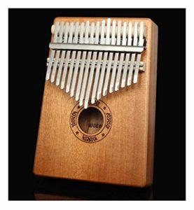 Piano à 17 touches, instrument de musique débutant avec sac de velours marteau de réglage instrument de musique jouets éducatifs amateurs de musique