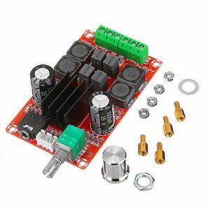 PKA HIFI 2.0 TPA3116D2 Amplificateur audio numérique 2 x 50 W