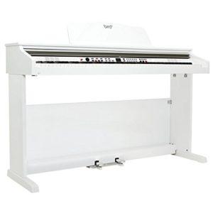 Bird DP1 Piano numérique meuble Blanc Laqué