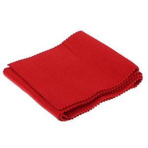 Casinlog Piano 88 Housse de protection anti-poussière en laine douce pour clavier