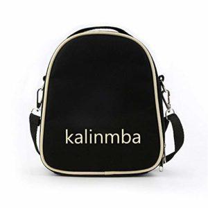 CHENTAOMAYAN Mini Sac Mignon épaule Kalimba Portable Interne Pouce Piano Épaississement Sac à Main Pouce Accessoire Piano (Color : Black, Size : 26 inches)