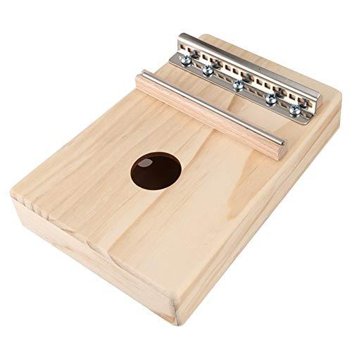 CHENTAOMAYAN Simple Assemblée 17 clés Kalimba Handwork Kit DIY Bois Finger Pouce Piano for Les Enfants Enfants Instrument de Musique