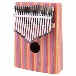EXCEART 1 Set Bois Kalimba Piano 17 Touches Pouce Piano Portable Pouce Kalimba Instrument