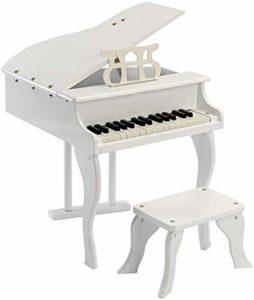 Kinen Fascinant 2020 Enfants en Bois de Piano Piano, 30 l'introduction de Piano for Les Enfants clé for pratiquer Le Petit Piano Jouet Piano Cadeau (Couleur: Blanc) ewds (Color : White)