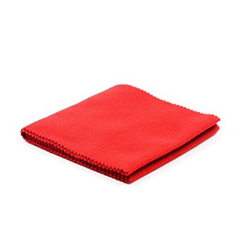 SUPVOX Clavier anti-poussière de clavier de chiffon de couverture de clé pour le nettoyage de piano pour le piano numérique de clavier électronique (Rouge)