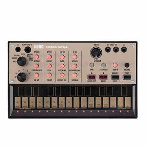 Synthétiseur analogique Volca Keys Synthétiseur introductif pour Moteur de Son analogique polyphonique et séquenceur de Boucle
