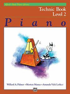 Alfred's Basic Piano Technic Book Lvl 2 — Piano – Palmer, Manus & Lethco — Alfred Publishing