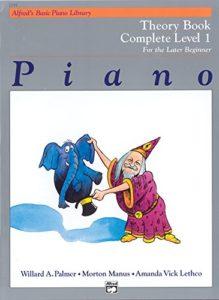 Alfred's Basic Piano Theory Book Cmpl 1 — Piano – Palmer, Manus & Lethco — Alfred Publishing