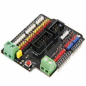 Carte d'extension, IO Shield V1 Carte d'extension Composant électrique dédié du capteur de bloc de construction électronique
