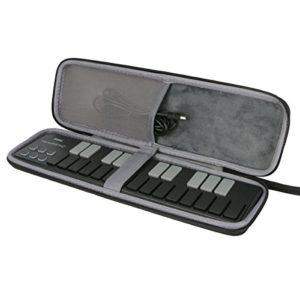 Étui de Voyage Rigide Housse Case pour Korg NANOKEY2-BK Clavier USB par co2CREA