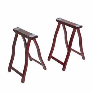 GDGQJRM Support de Clavier Musique Guzheng Shelf, Universal Type A-Cadre en Bois Massif, Cadre Piano Portable, Vertical Guzheng Professionnel Piètements, Facile à Transporter