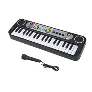 Gojiny Piano Électronique Clavier Numérique Électrique à 37 Touches Piano Instruments de Musique Enfants Jouet avec Microphone pour Enfants Cadeau