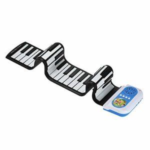 ilt-in Haut-Parleur Enroulable en Silicone pour Piano électronique intégré