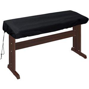 Lictin Housse de protection anti-poussière pour clavier électrique à piano numérique avec cordon réglable, 88 touches 88 Keys