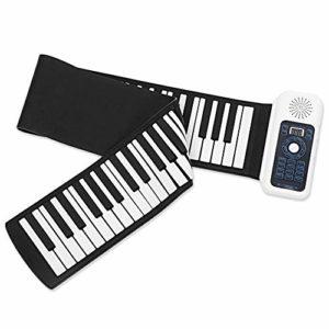 Piano Travelh 128 Rhyth avec 128 Touches Roll Up Rhythms Electric Soft Keyboard
