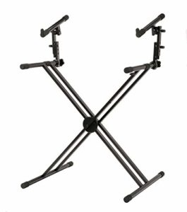 Steelwo Clavier X Key X Pliable Professionnel Double Braced Stage Piano Double Stand Pliable Acier Professionnel Double Brace