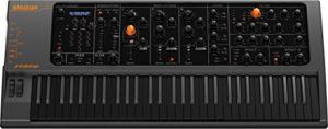 Studiologic SLEDGE BLACK EDITION – Synthétiseur à modélisation wavetable – lecteur d'échantillons – 61 notes – noir
