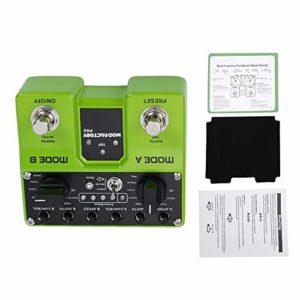 2 effets de guitare de modulation de traitement indépendants contenant un total de 16 modules d'effets, instruments de musique, équipement d'enregistrement de studio