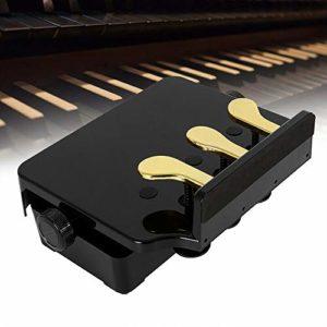 E Piano Sustain Pédale de Piano pour Enfant avec 3 Pédales pour Piano Numérique Clavier Electronique