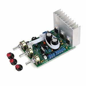 PassBeauty LM1875 Lot de 3 amplificateurs de caisson de basses 2.1 3 canaux Compatible TDA2030A