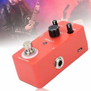 Pédale d'effet Full Metal Shell, effecteur de guitare Tremolo, pour instrument de guitare amateur