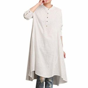 Blouse T-Shirts Femme,ManadlianHaut à Manches Longues pour FemmesChemisier Automne M-XXL