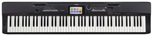 Casio px-360mbk–Clavier MIDI (Boutons, toucher, courant alternatif, courant alternatif, LCD, USB)