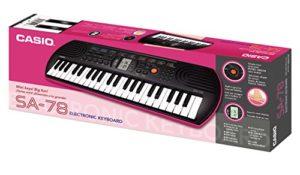 Casio SA-78 Mini clavier Rose
