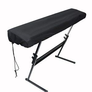 Cratone 88 Housse de protection pour clavier de piano électronique et clavier de piano Noir 134 * 29 * 18CM 88 Tasten
