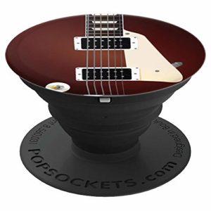 Electric Guitar String Cool Instrument Music Lover Gifts PopSockets Support et Grip pour Smartphones et Tablettes